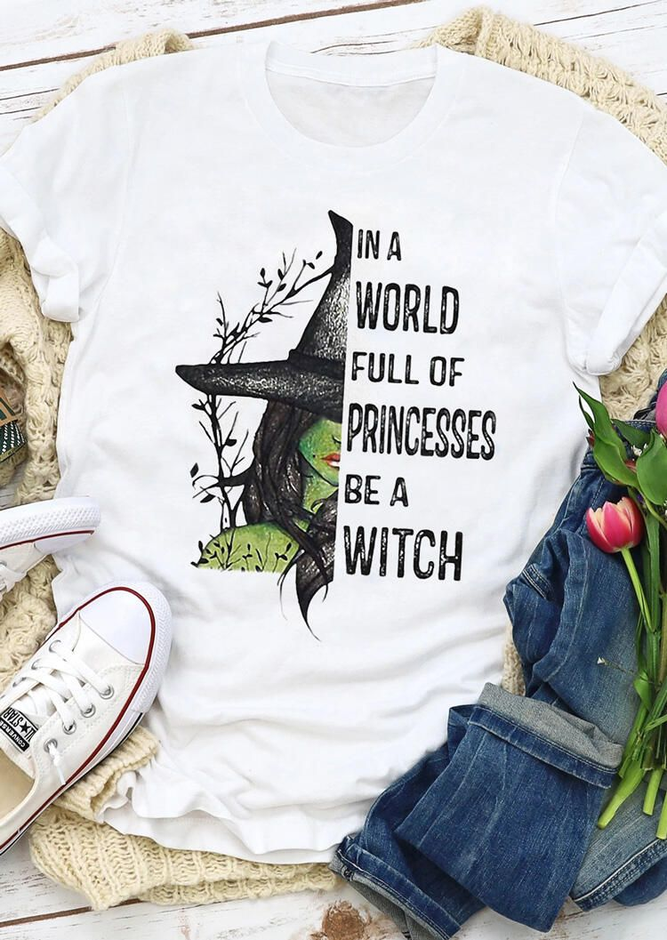 Be A Witch T Shirt